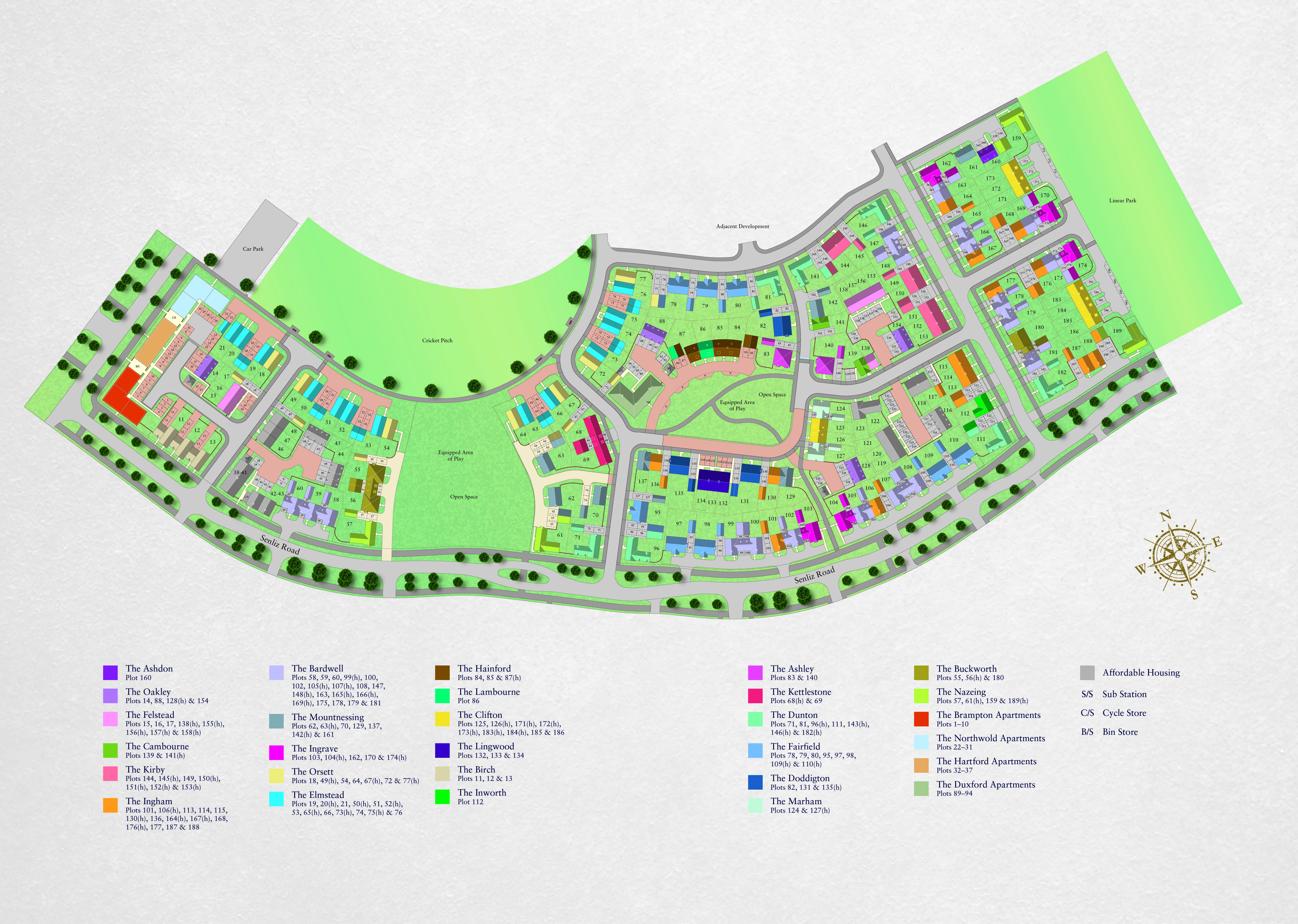 Alconbury Siteplan