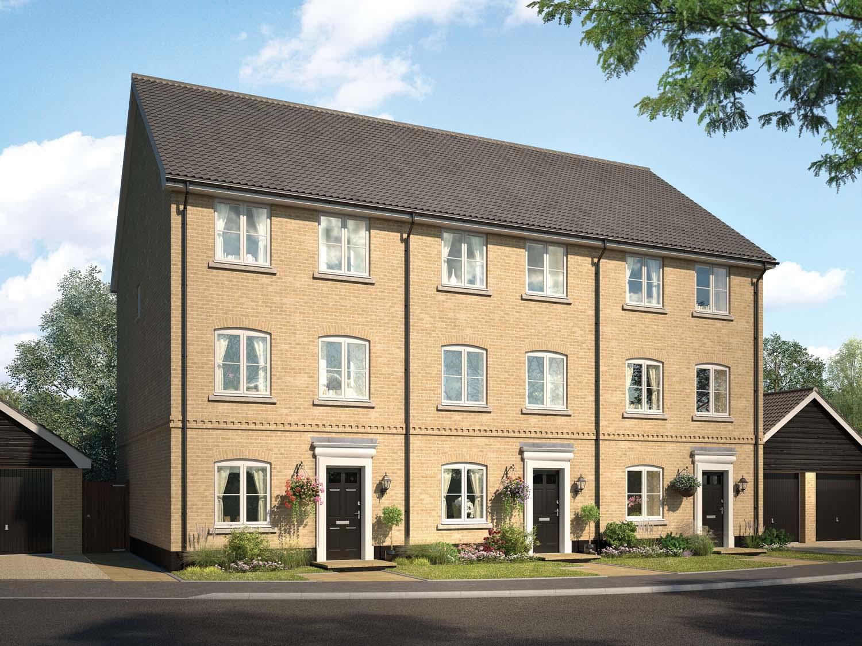 New Build Town Houses In Soham