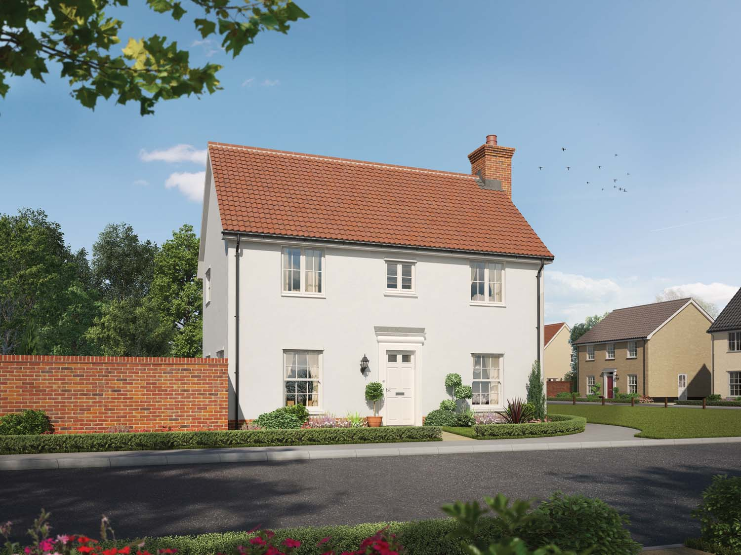 Millers Place In Soham New Homes