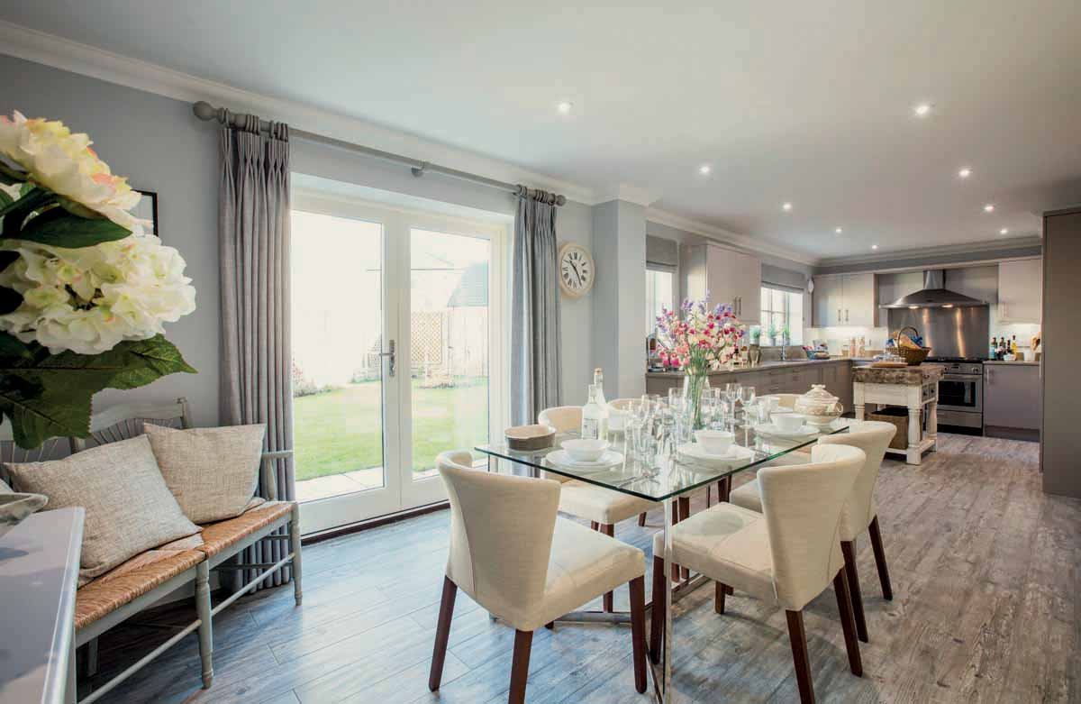 Blyth Vale Open Plan Kitchen And Dining Room