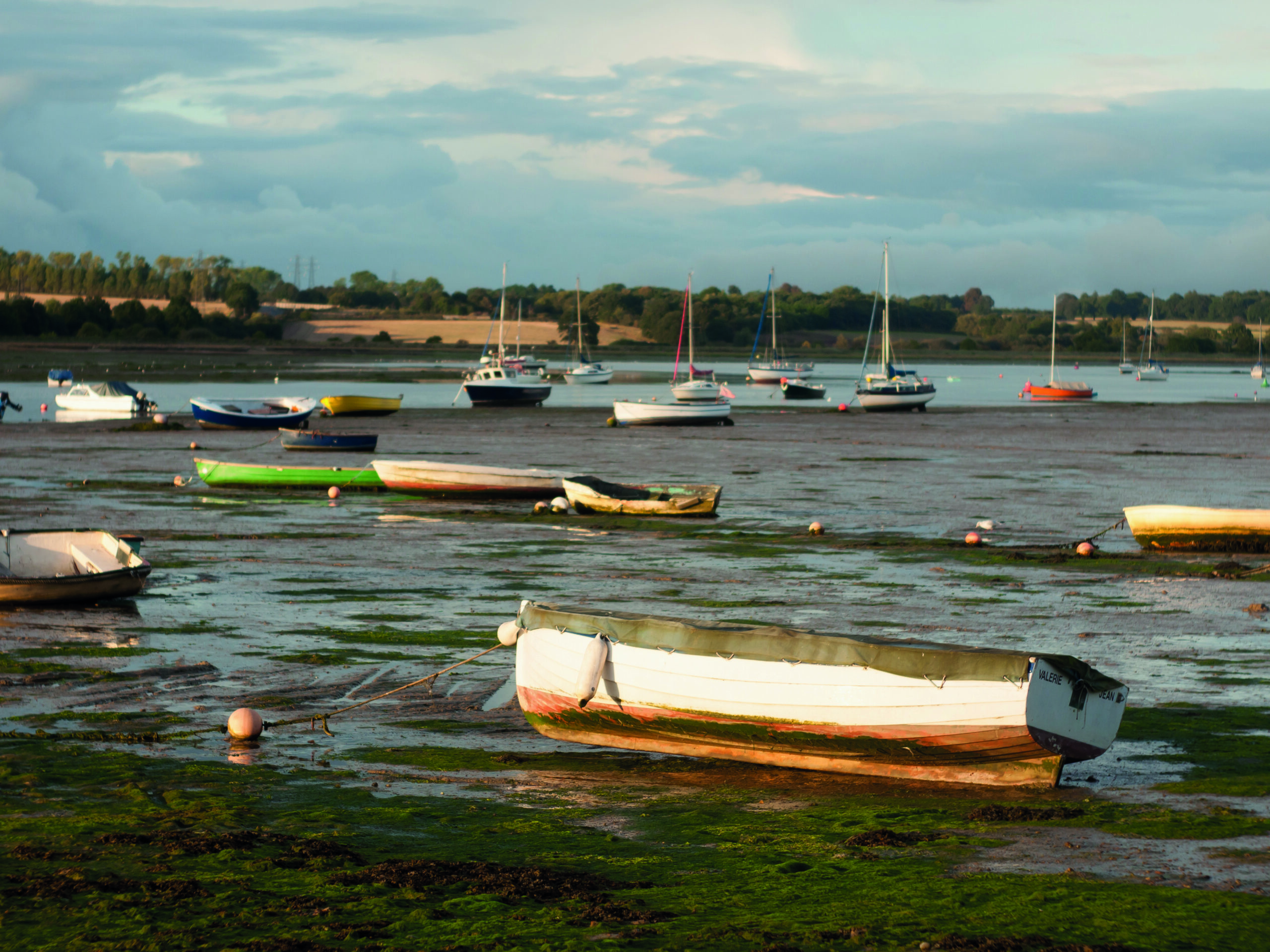 Boats On The Coast In Essex