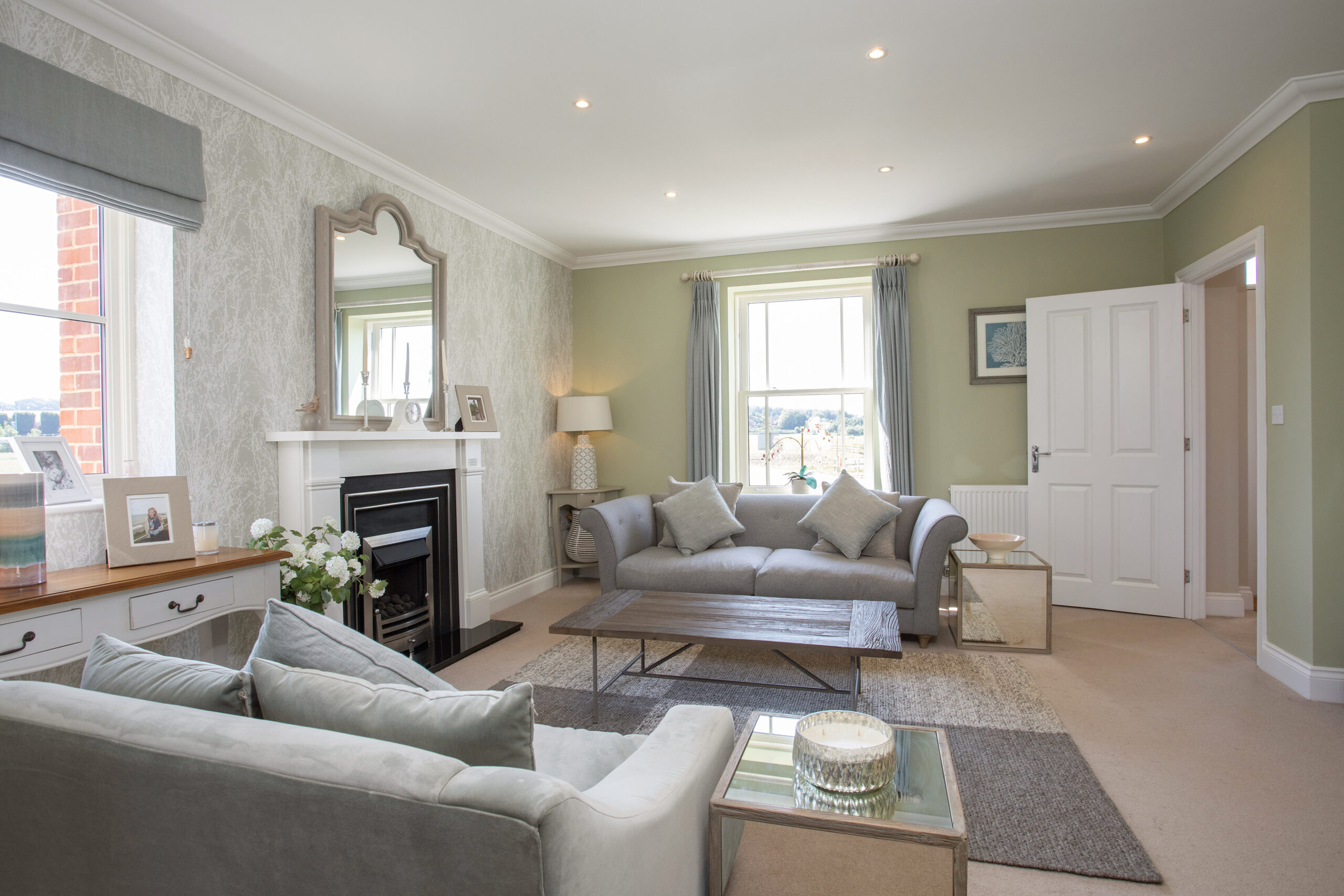Indigo Fields Living Room
