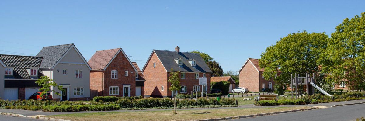 Nightingale Meadows Development In Leiston
