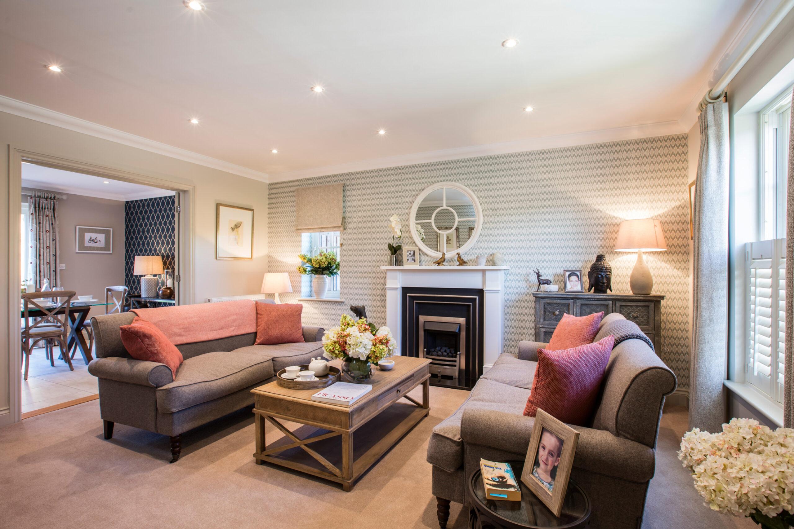 Priors Grange In Saxmundham Living Room