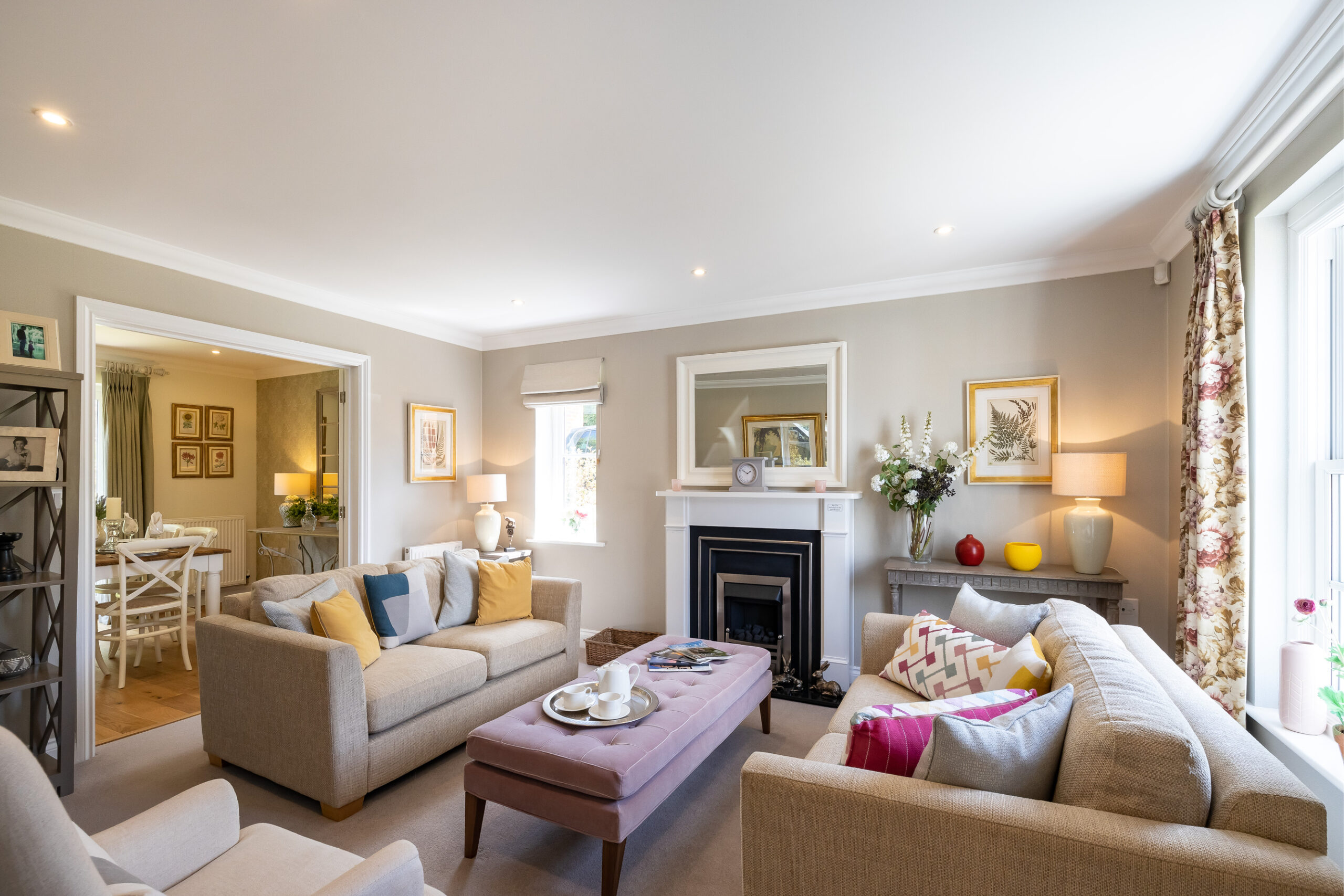 Priors Grange Living Room