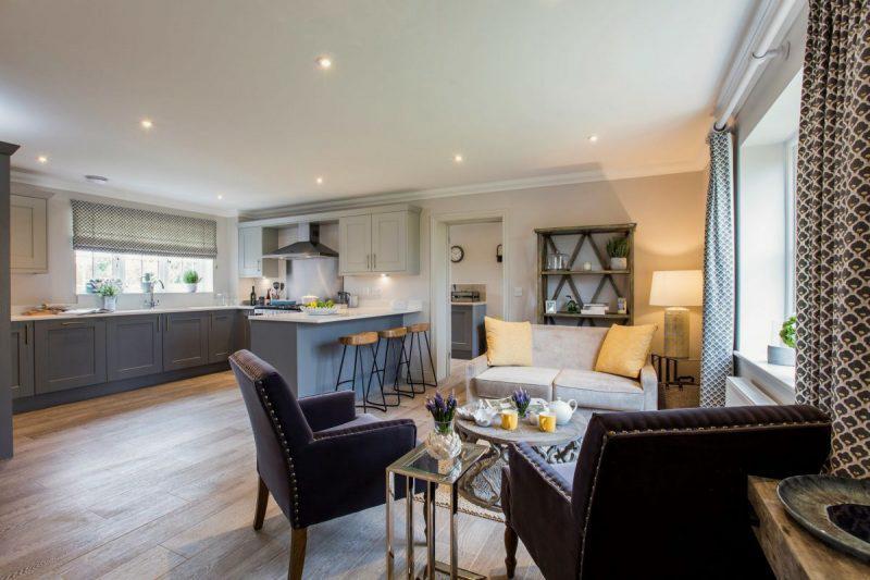 Saxon Meadow Open Plan Kitchen