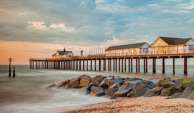 Southwold Pier In Suffolk