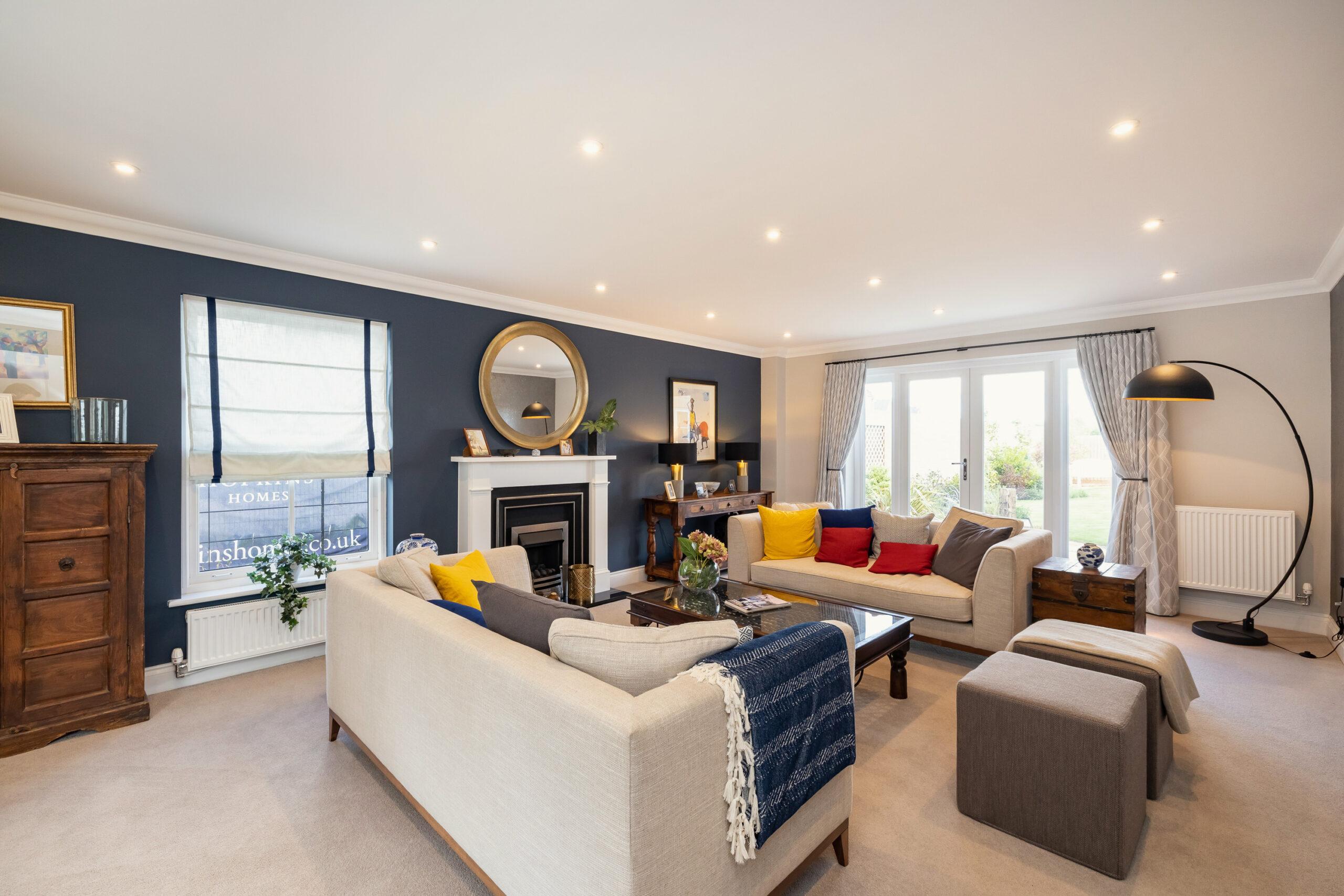 St James Park Living Room