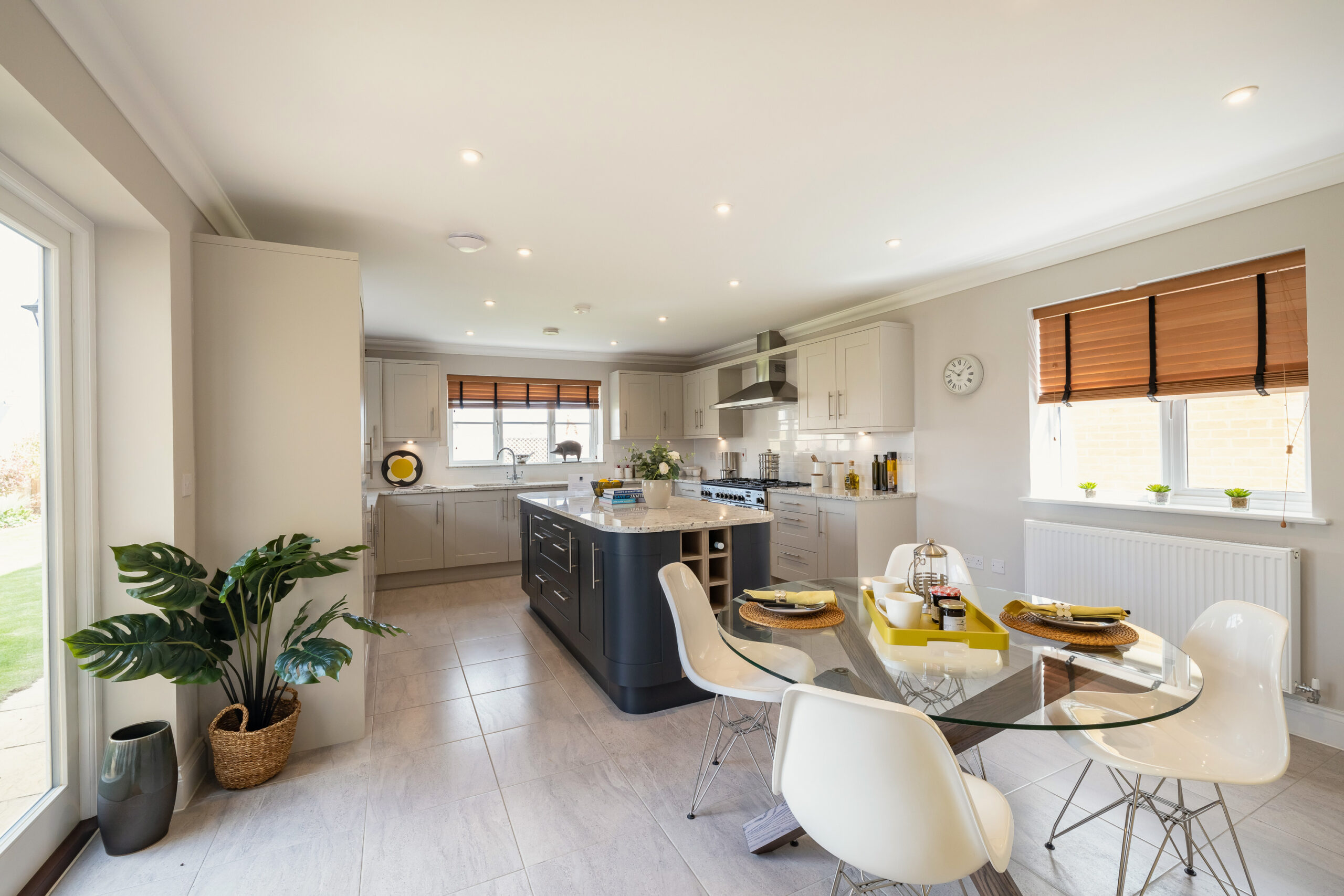 St James Park Open Plan Kitchen And Dining Room