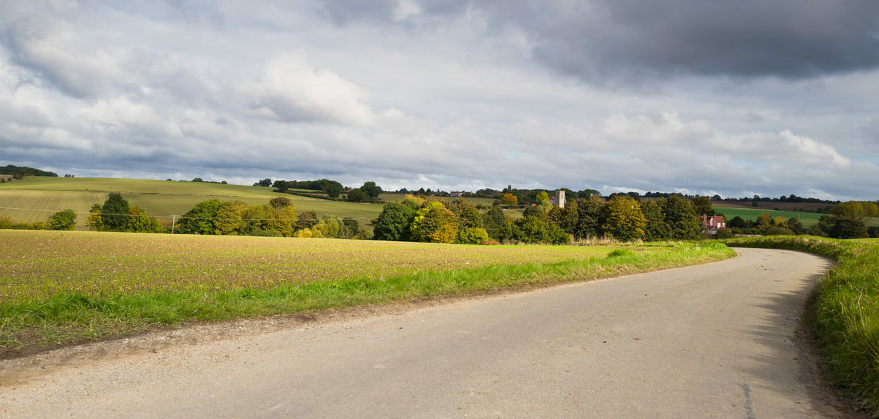 View Of The Suffolk Countryside