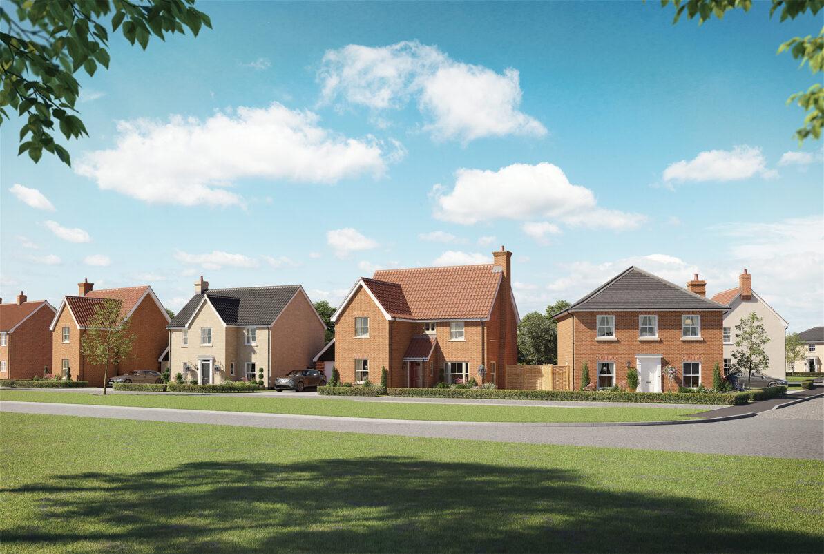 Lark Grove Somersham New Development